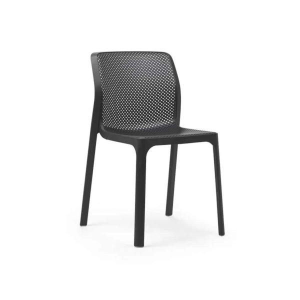 Bit Side Chair Black