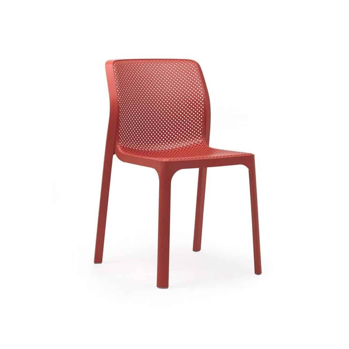 Bit Side Chair Red