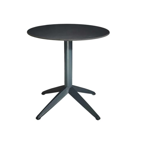 Braga Table base Anthracite DeFrae Contract Furniture