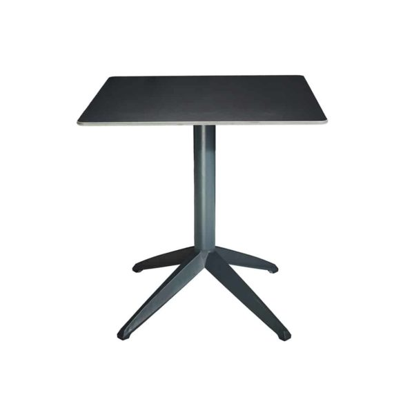 Braga Table base Anthracite DeFrae Contract Furniture 700 Square