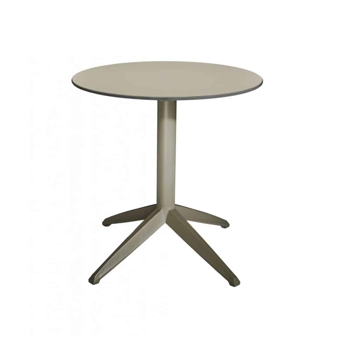 Braga Table base Taupe DeFrae Contract Furniture