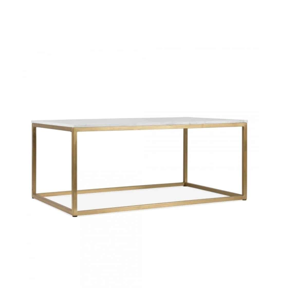 Fountain coffee table R DeFrae Contract Furniture brass frame 2