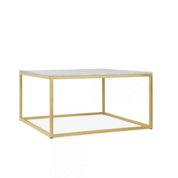 Fountain coffee table SQ DeFrae Contract Furniture brass frame 2