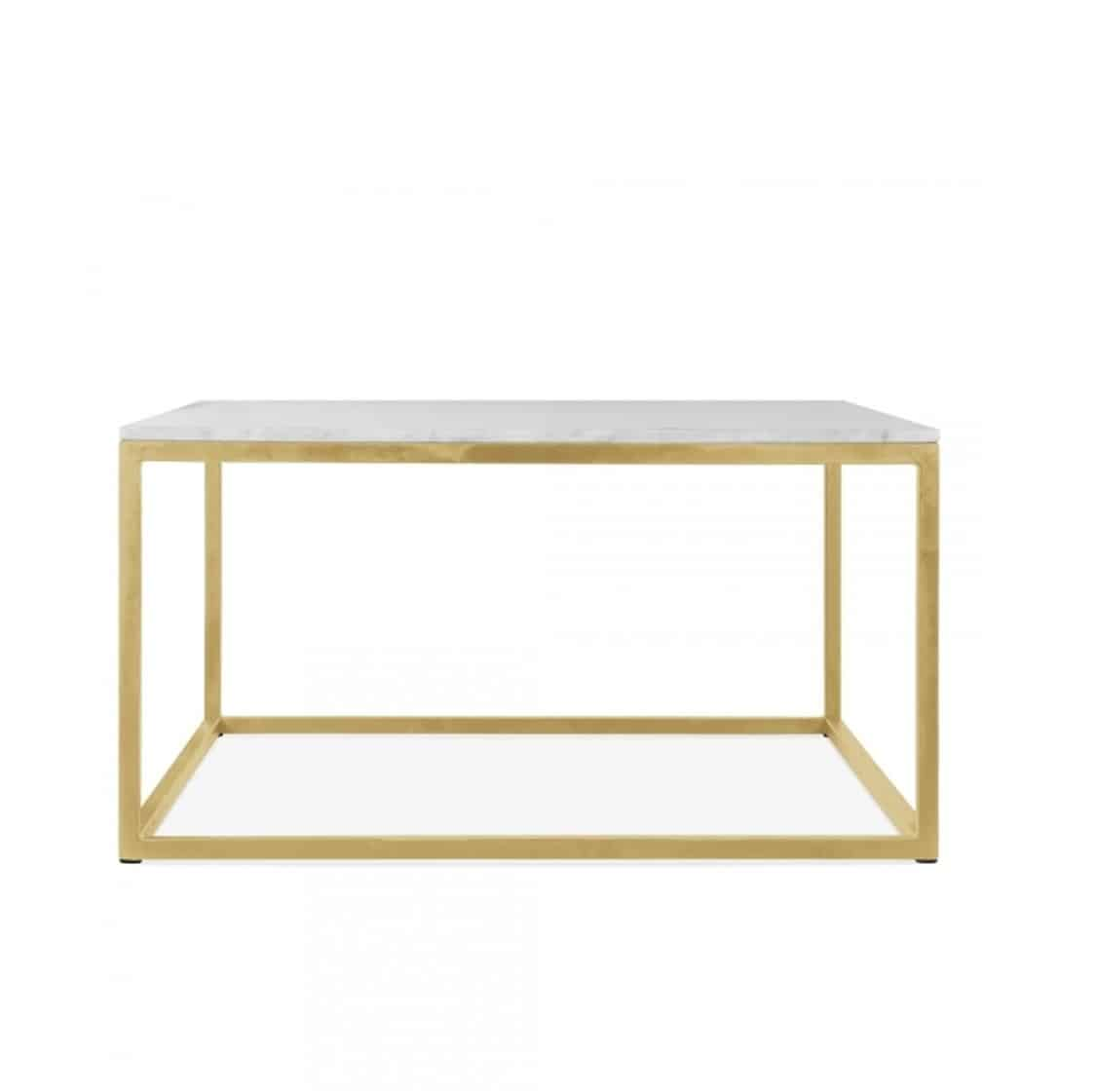 Fountain coffee table SQ DeFrae Contract Furniture brass frame