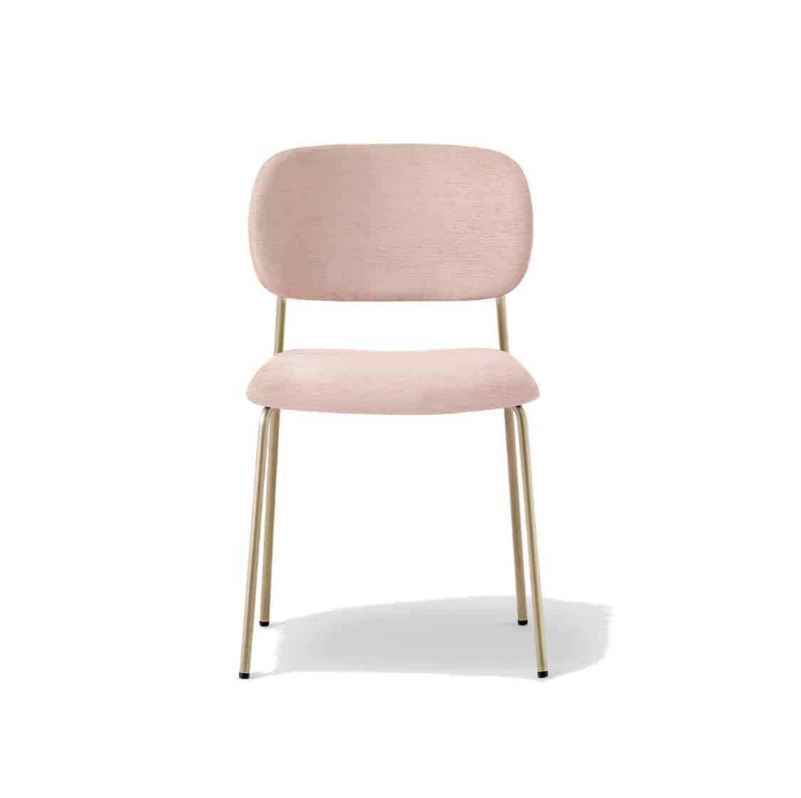 Jazz side chair from Pedrali at DeFrae Contract Furniture Pink