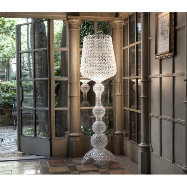 Kabuki Floor Lamp from Kartell at DeFrae Contract Furniture In Situ
