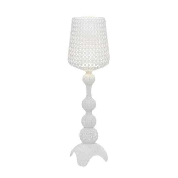 Kabuki Floor Lamp from Kartell at DeFrae Contract Furniture White