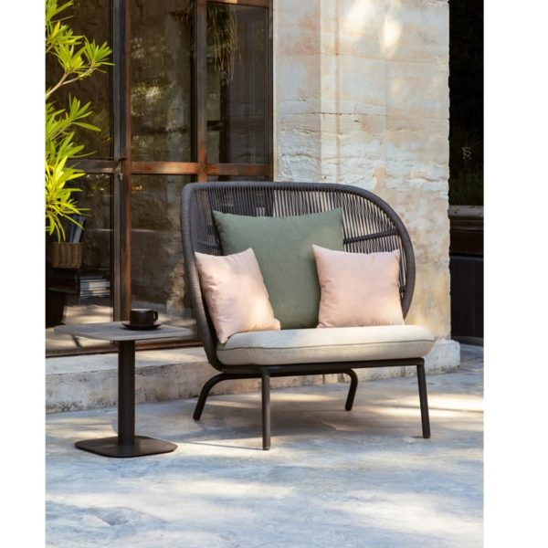 Kodo Cocoon Lounge Armchair Vincent Sheppard DeFrae Contract Furniture In Situ