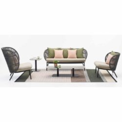 Kodo Sofa and Armchairs in situ Vincent Sheppard DeFrae Contract Furniture