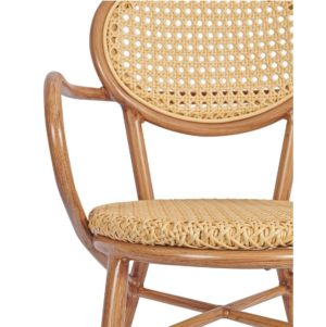 Lille Armchair DeFrae Contract Furniture Natural Close Up