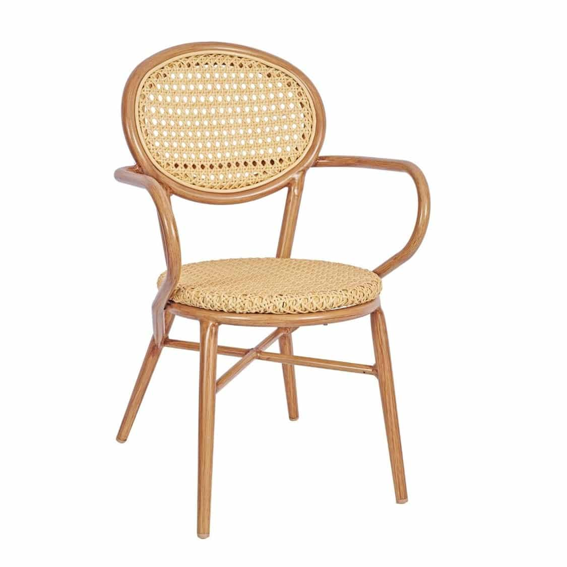 Lille Armchair DeFrae Contract Furniture Natural