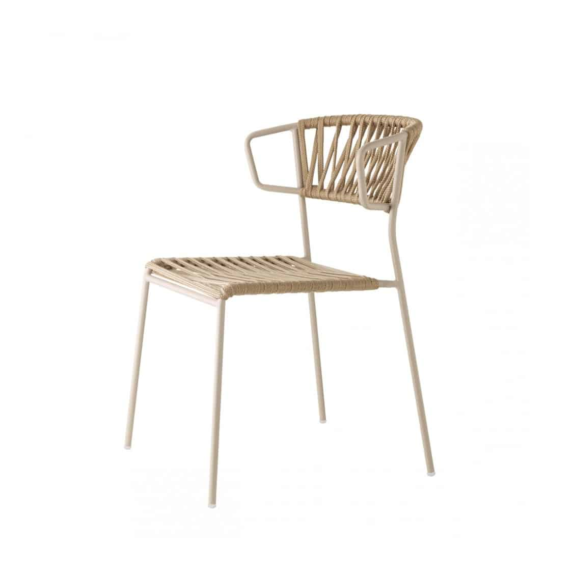 Lisa Club Armchair Outside Scab Design at DeFrae Contract Furniture