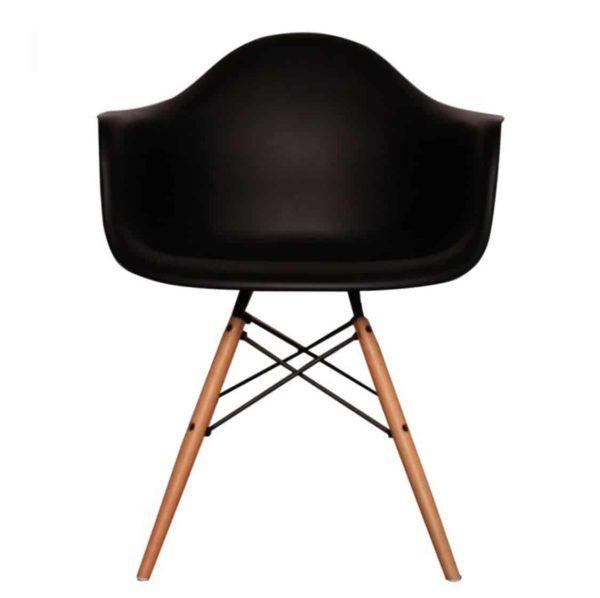 Lyon Armchair DeFrae Contract Furniture Black