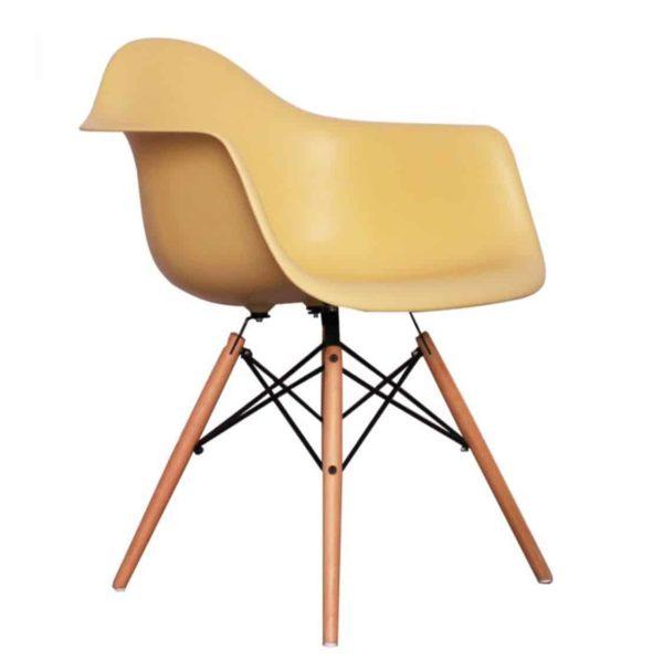 Lyon Armchair DeFrae Contract Furniture Cream