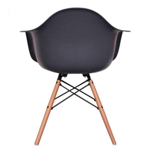 Lyon Armchair DeFrae Contract Furniture Dark Gray