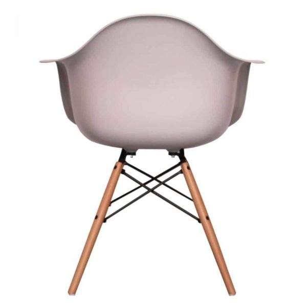 Lyon Armchair DeFrae Contract Furniture Light Grey