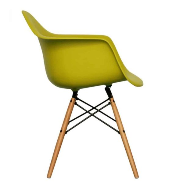 Lyon Armchair DeFrae Contract Furniture Mustard
