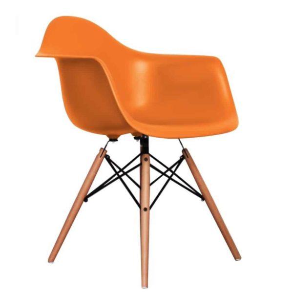 Lyon Armchair DeFrae Contract Furniture Orange