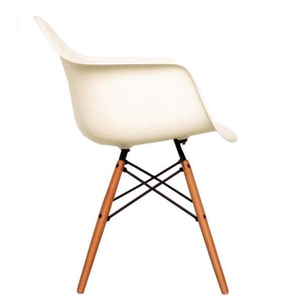 Lyon Armchair DeFrae Contract Furniture Vanilla