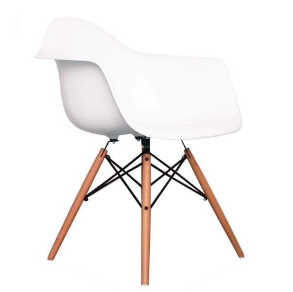 Lyon Armchair DeFrae Contract Furniture White