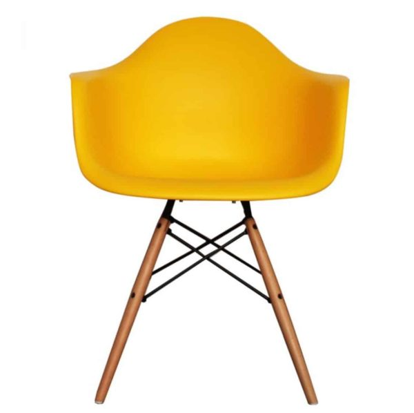 Lyon Armchair DeFrae Contract Furniture Yellow
