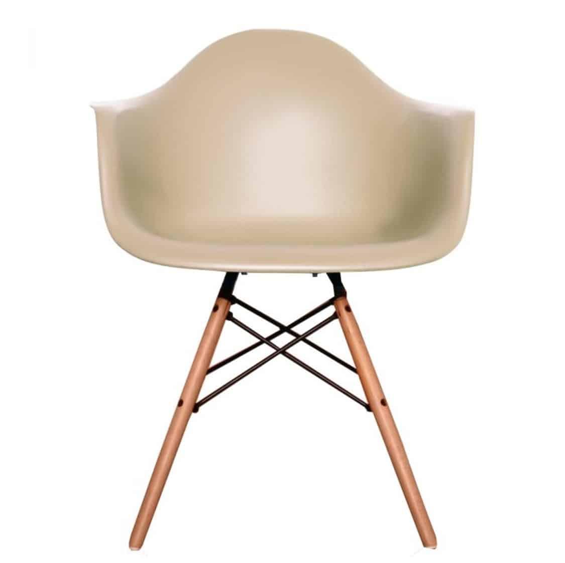 Lyon Armchair Beige DeFrae Contract Furniture
