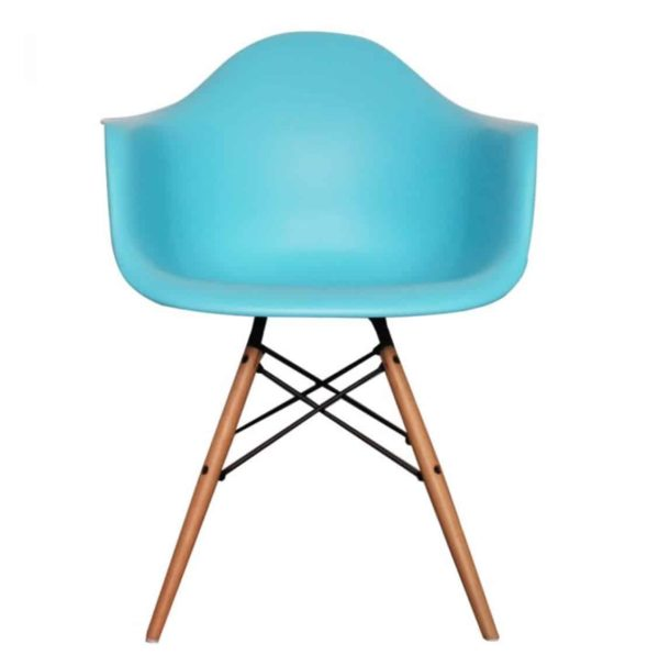 Lyon Armchair DeFrae Contract Furniture Pearl Blue