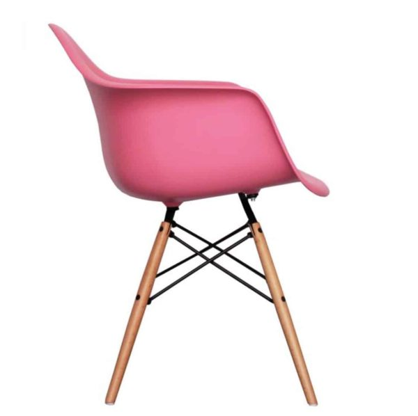 Lyon Armchair DeFrae Contract Furniture Pink