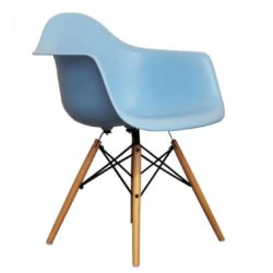 Lyon Armchair DeFrae Contract Furniture Sky Blue
