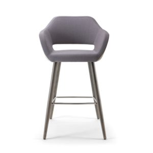 Manu Bar Stool 07 101 Base DeFrae Contract Furniture