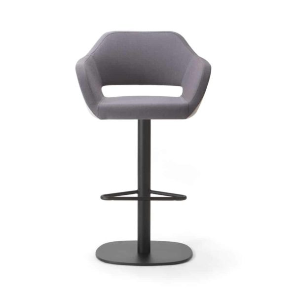 Manu Bar Stool 07 108 Base DeFrae Contract Furniture