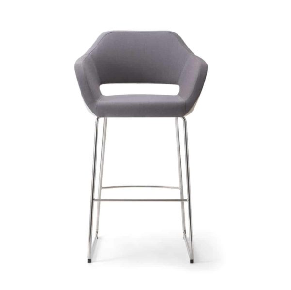 Manu Bar Stool 07 115 Base DeFrae Contract Furniture