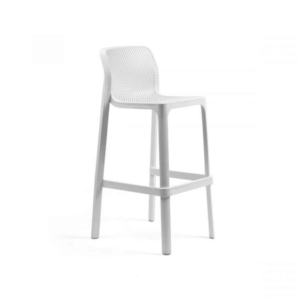Net Bar Stool DeFrae Contract Furniture White
