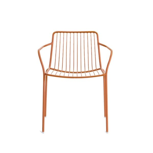 Nolita armchair 3655 Pedrali at DeFrae Contract Furniture Red