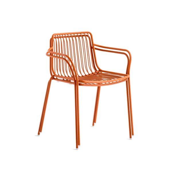 Nolita armchair 3655 Pedrali at DeFrae Contract Furniture Rose Stackable