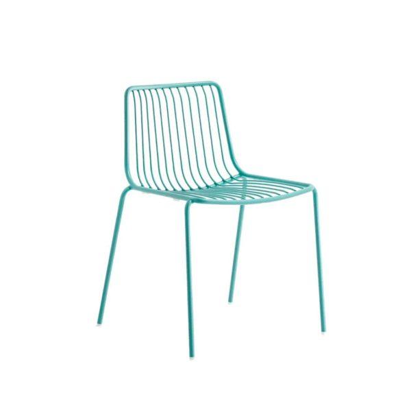 Nolita side chair 3650 Pedrali at DeFrae Contract Furniture Aqua