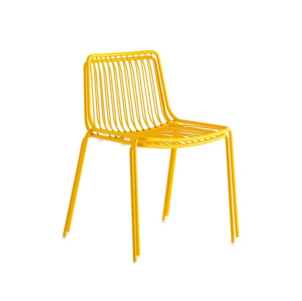 Nolita side chair 3650 Pedrali at DeFrae Contract Furniture Mustard Stackable