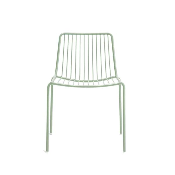 Nolita side chair 3650 Pedrali at DeFrae Contract Furniture Sage Green