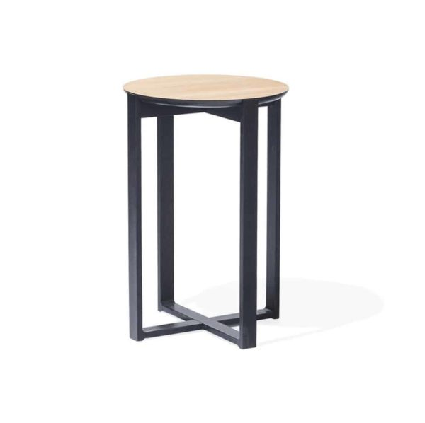 Panama Coffee Table Delta 722 DeFrae Contract Furniture Black Frame