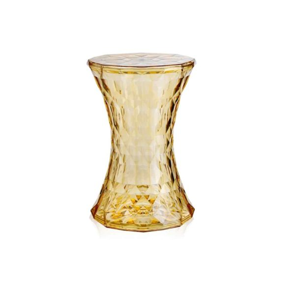 Stone Side Table from Kartell at DeFrae Contract Furniture Transparent Yellow