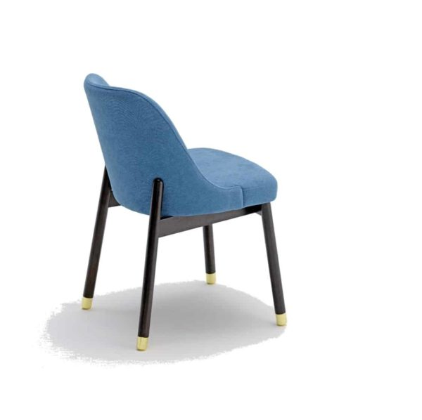 Trudy Side Chair DeFrae Contract Furniture With Socks Back View