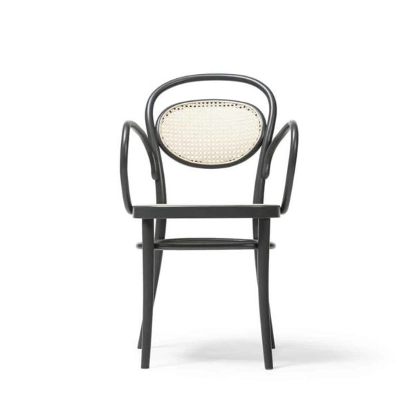 Twenty Armchair 20 Bentwood Classic Armchair with cane seat and back DeFrae Contract Furniture 2