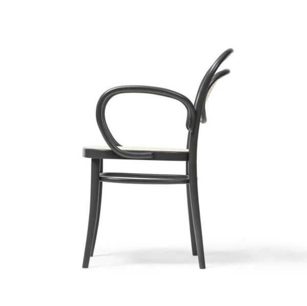 Twenty Armchair 20 Bentwood Classic Armchair with cane seat and back DeFrae Contract Furniture