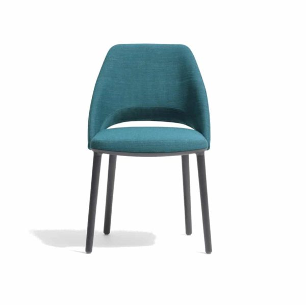 Vic 655 side chair from Pedrali at DeFrae Contract Furniture Blue