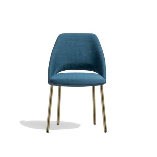 Vic 656 side chair from Pedrali at DeFrae Contract Furniture Blue