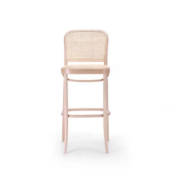 Cane Bar Stool 811 Natural DeFrae Contract Furniture 2