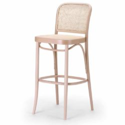 Cane Bar Stool 811 Natural DeFrae Contract Furniture