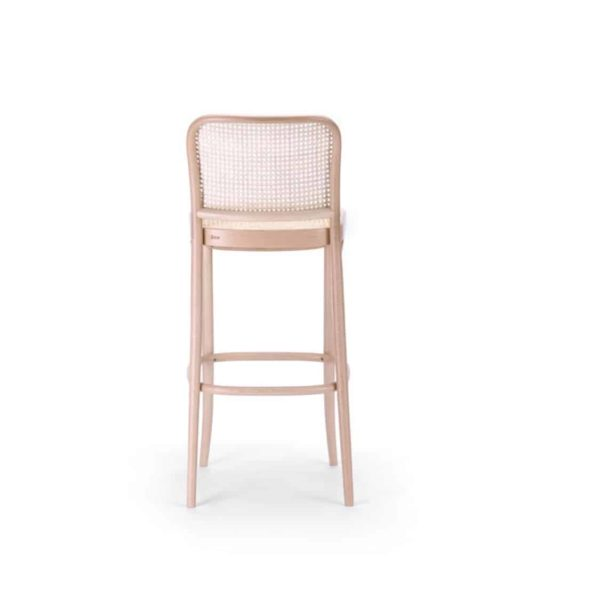 Cane Bar Stool 811 Natural DeFrae Contract Furniture 6