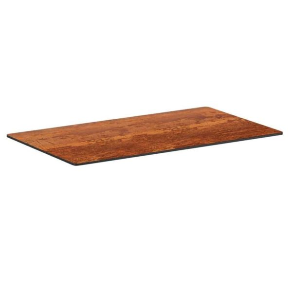 Copper Laminate Table Tops DeFrae Contract Furniture Rectangular
