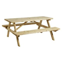 Picnic Tables 8 Seater Rectangular DeFrae Contract Furniture Outside Furniture